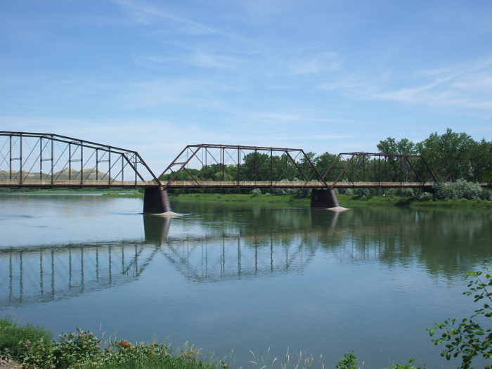5. The bridge to nowhere in Fort Benton.