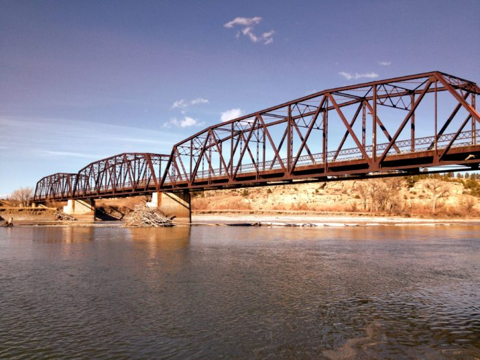 2. Bundy Bridge in Yellowstone County.