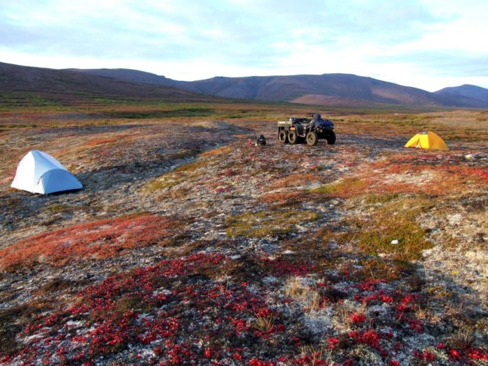 13. Pitch a tent in the backcountry.