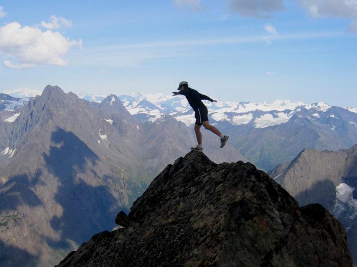 3. Climb a mountain.