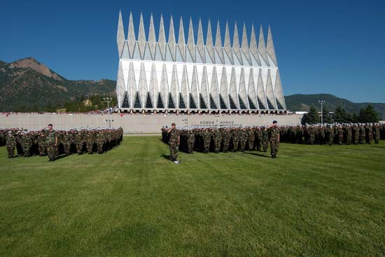 6. United States Air Force Academy, Cadet Area (Colorado Springs)