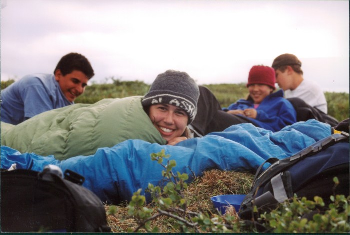 18. You lived for the moments when you could camp with your friends in the middle of nowhere.