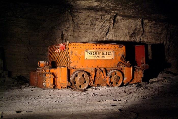 9. One of the neighboring mines, the Carey Salt Mine, was founded in 1923 and is the only rock salt mine remaining in Reno County.