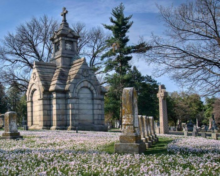 Cave Hill Cemetery at 701 Baxter Avenue in Louisville.