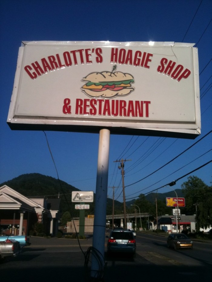 15. Charlotte's Hoagie Shop at 1516 E Main Street in Cumberland