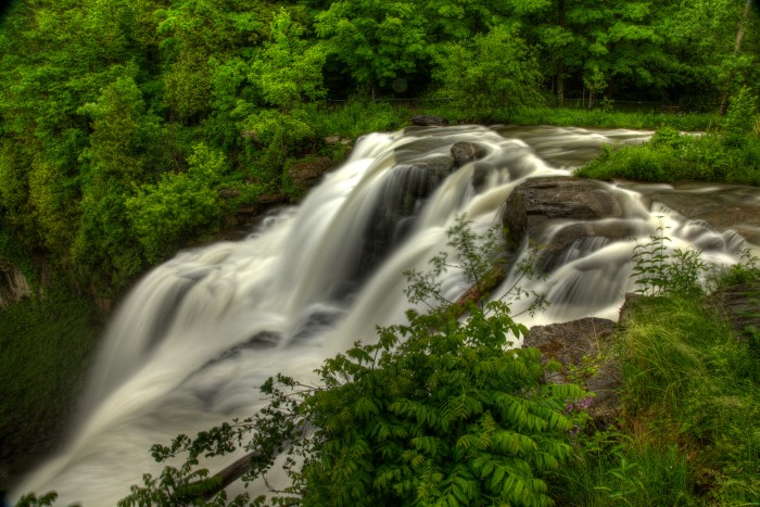 4. One of our favorites, the beauty of Chittenango Falls is truly one of a kind.