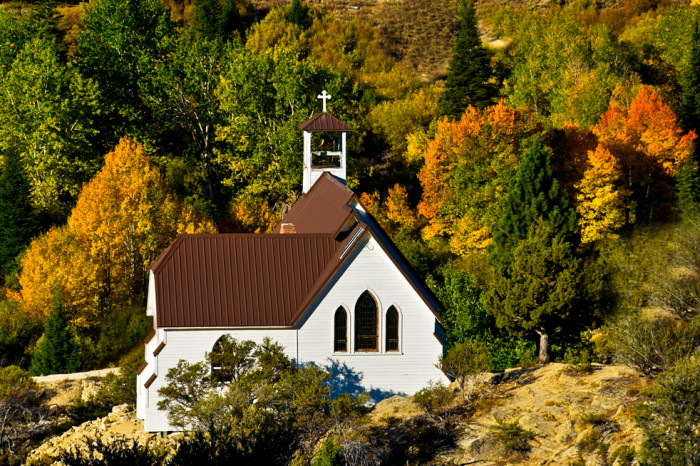 Silver City is also home to one of the most beautiful historical churches in the state: Our Lady of Tears.