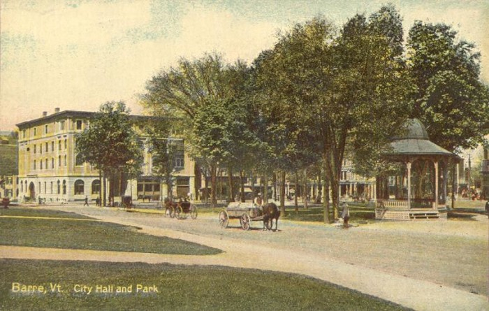 3.  Barre in the 1900s.