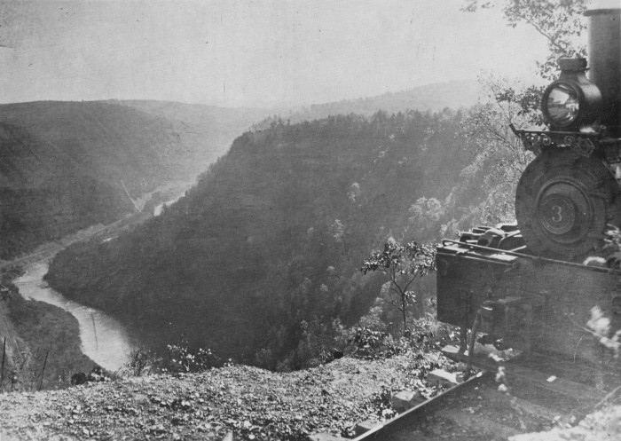 4. Colton Point State Park on Pine Creek, 1921