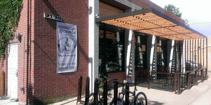 6. Common Grounds Coffeehouse