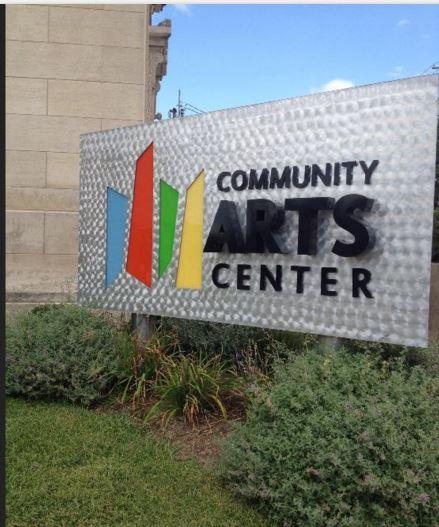 Community Arts Center at 401 W Main Street.