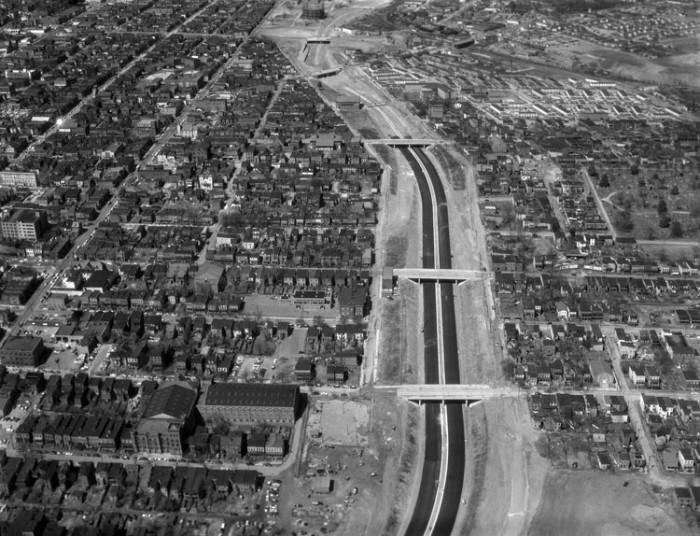 3. Construction of I-95 through Richmond (1958)