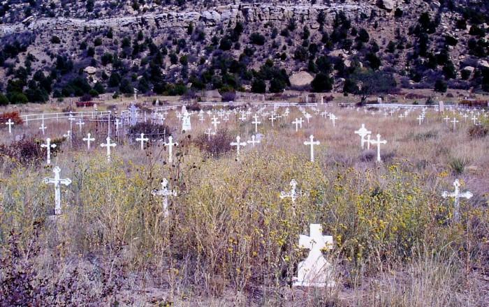 2. Dawson Cemetery, near Cimarron