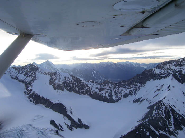 5. Fly Over The Highest Mountain In North America