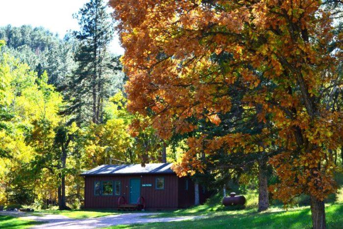 1. Get away at Backroads Inn & Cabins.