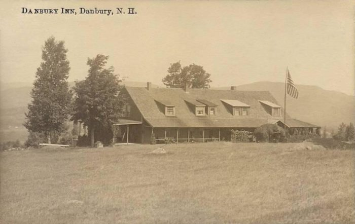 3. The Danbury Inn provided lodging, because even in 1916 the Granite State was popular with tourists.