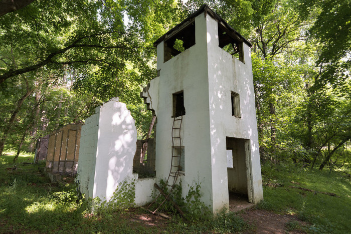 Explore a little further and you'll discover another unique building which was another town church, named the Pentecostal Holiness Church.