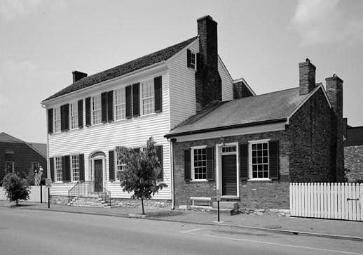 7. Dr. Ephraim McDowell House in Danville