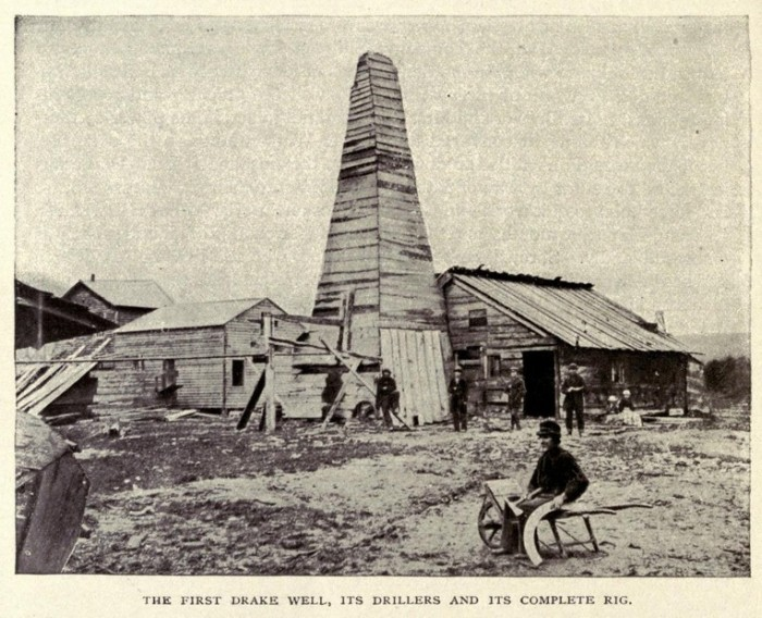 8. We are home to the Number One / First oil well in the US.