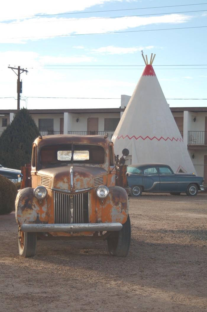 1.  Wigwam Motel, Holbrook, AZ