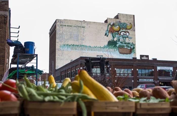 5. Eastern Market, Detroit
