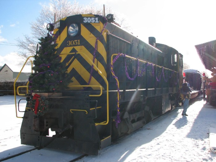 5. The Santa Express via Cooperstown & Charlotte Valley Railroad