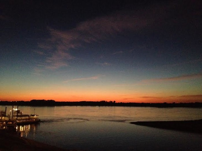 5. Again - Tennessee and the perfect sunsets.