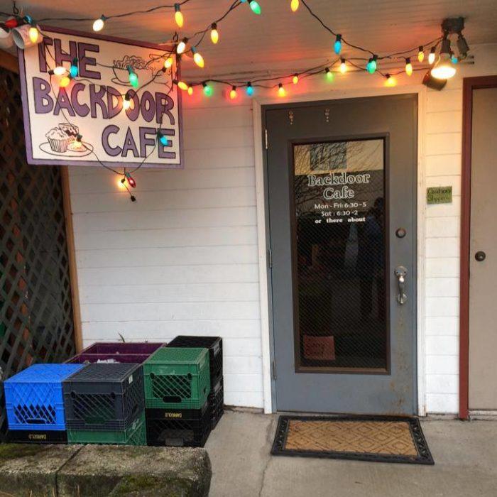 9. Backdoor Cafe - Sitka