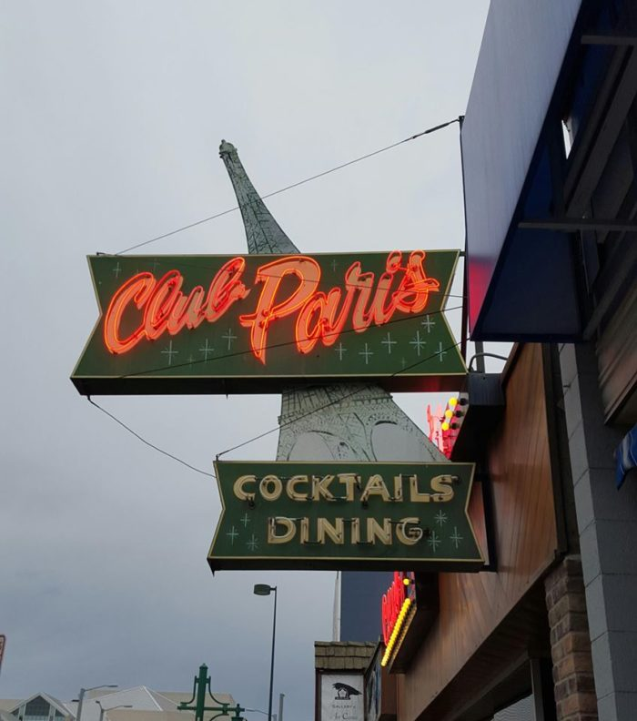 1. Club Paris - Anchorage