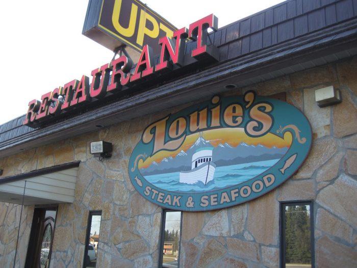 16. Louie's Steak & Seafood - Kenai