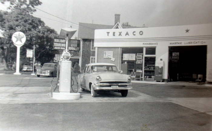 10. A Long Island gas station captured in 1959.