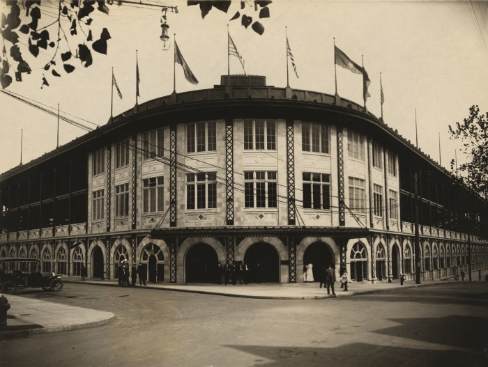 14.  Forbes Field, 1909