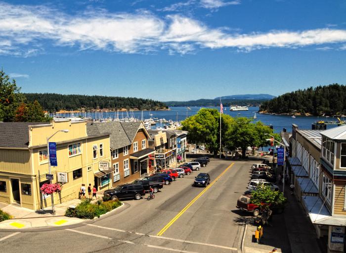 15. Friday Harbor, Washington