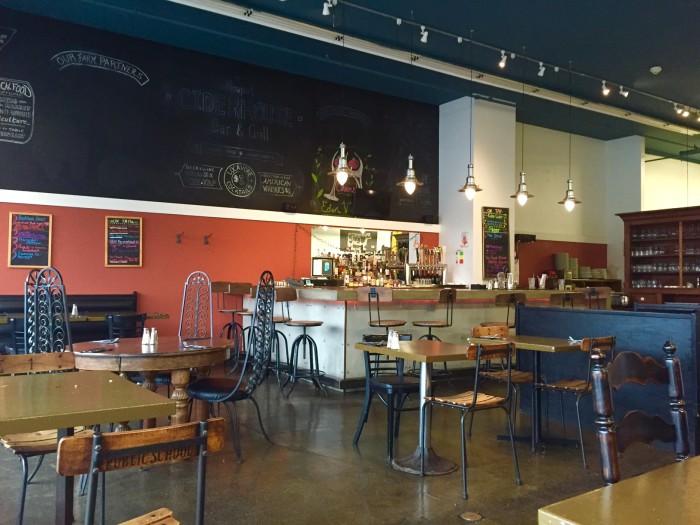1.  Newport Ciderhouse Bar & Grill- 150 Main Street, Newport