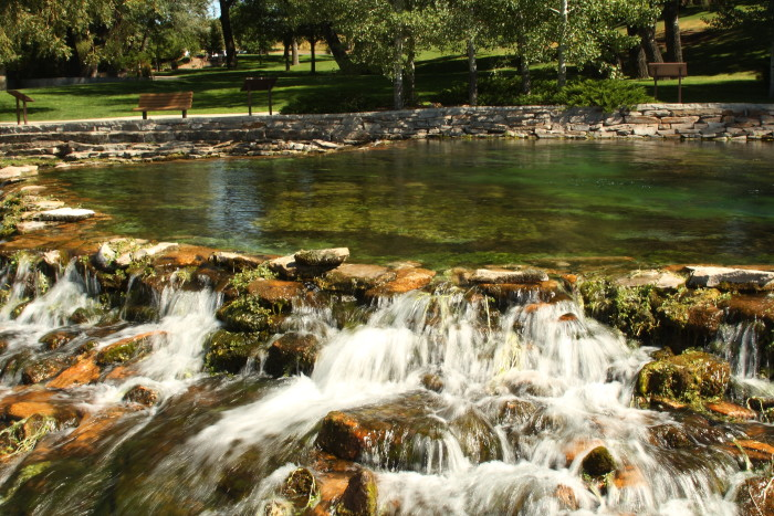It's no wonder that Giant Springs is the most frequently visited Montana state park.