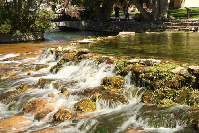 Giant Springs was discovered by the Lewis and Clark expedition in 1805.