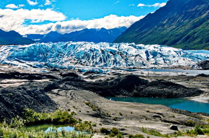 4. Go glacier gazing.