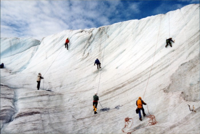 16. And at outdoor school, you probably learned how to shimmy down some glaciers or something totally normal.