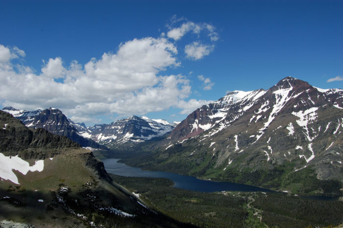 6. We have Glacier National Park, the Crown Jewel of the Continent.