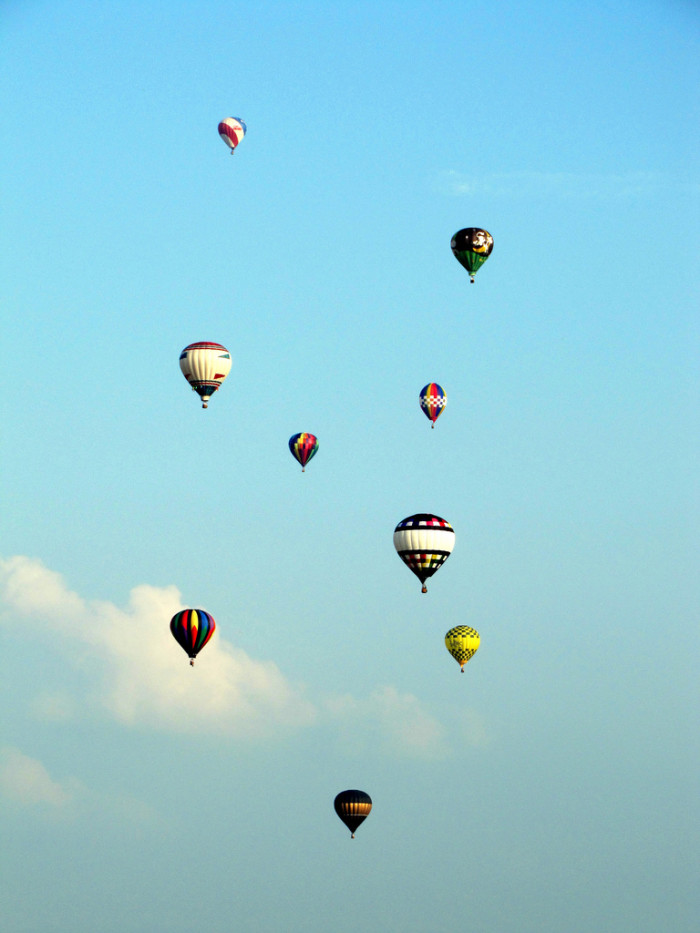 10 and 9. Great Balloon Fest