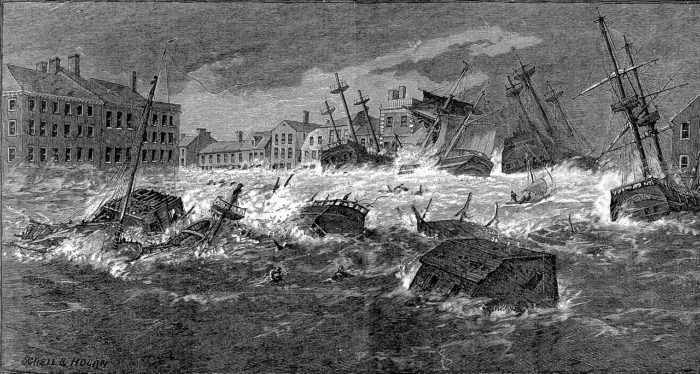 3. The Great September Gale of 1815