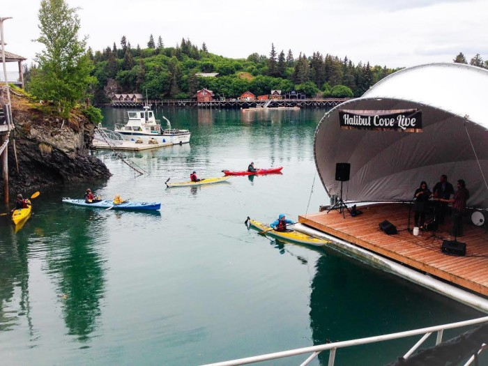 6. Experience Music And Amazing Food At Halibut Cove Live