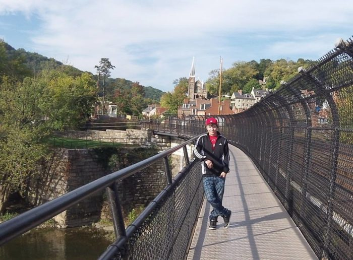 3. Harpers Ferry Rail Trail, 0.14 miles