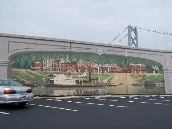 ...and the Maysville Floodwall