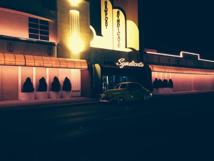 Have a night cap at the historic Newport Syndicate.