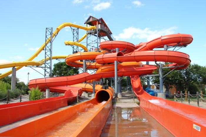 1. Hawaiian Falls is right up the road from Austin and is straight up full of water activities!