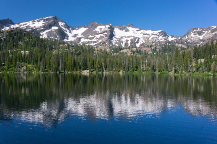 6. Heart Lake, Mission Mountains Wilderness