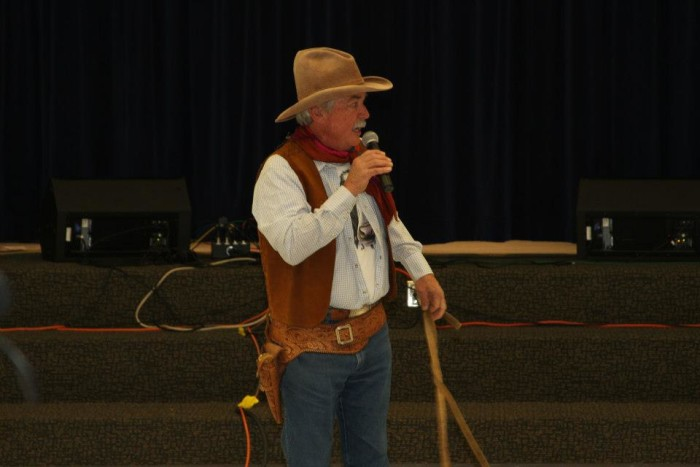 4. Heber: Cowboys and poetry.