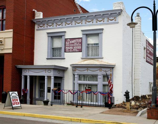 Since it isn't quite time to check into the hotel, now is the perfect opportunity to get out and explore the historic area -- and what better place to start than one of the town's many museums? From the Old Homestead House Museum (pictured) to the Cripple Creek Jail Museum to the Cripple Creek District Museum and more, there is truly no shortage of things to see (and learn about) during your stay.
