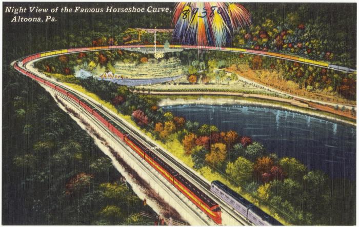 Horseshoe Postcard